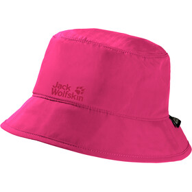 Jack Wolfskin Supplex Chapeau safari Enfant, pink peony